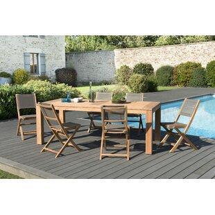 Woehler Garden 6 Seater Dining Set By Sol 72 Outdoor
