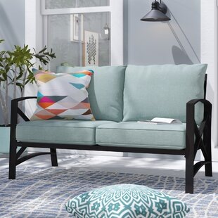 Freitag Loveseat with Cushions by Ivy Bronx