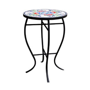 Coeburn Metal Bistro Table by Fleur De Lis Living