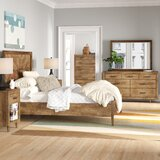Ian Platform Solid Wood 6 Piece Bedroom Set by Foundstone