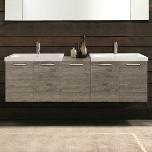 69 Double Modern Bathroom Vanity Set By Acquaviva
