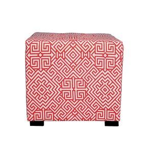 MJL Furniture Merton Santorini Cube Ottoman