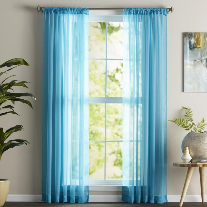 for curtains curtain sheer with teal leaves living gray p room elegant patterned