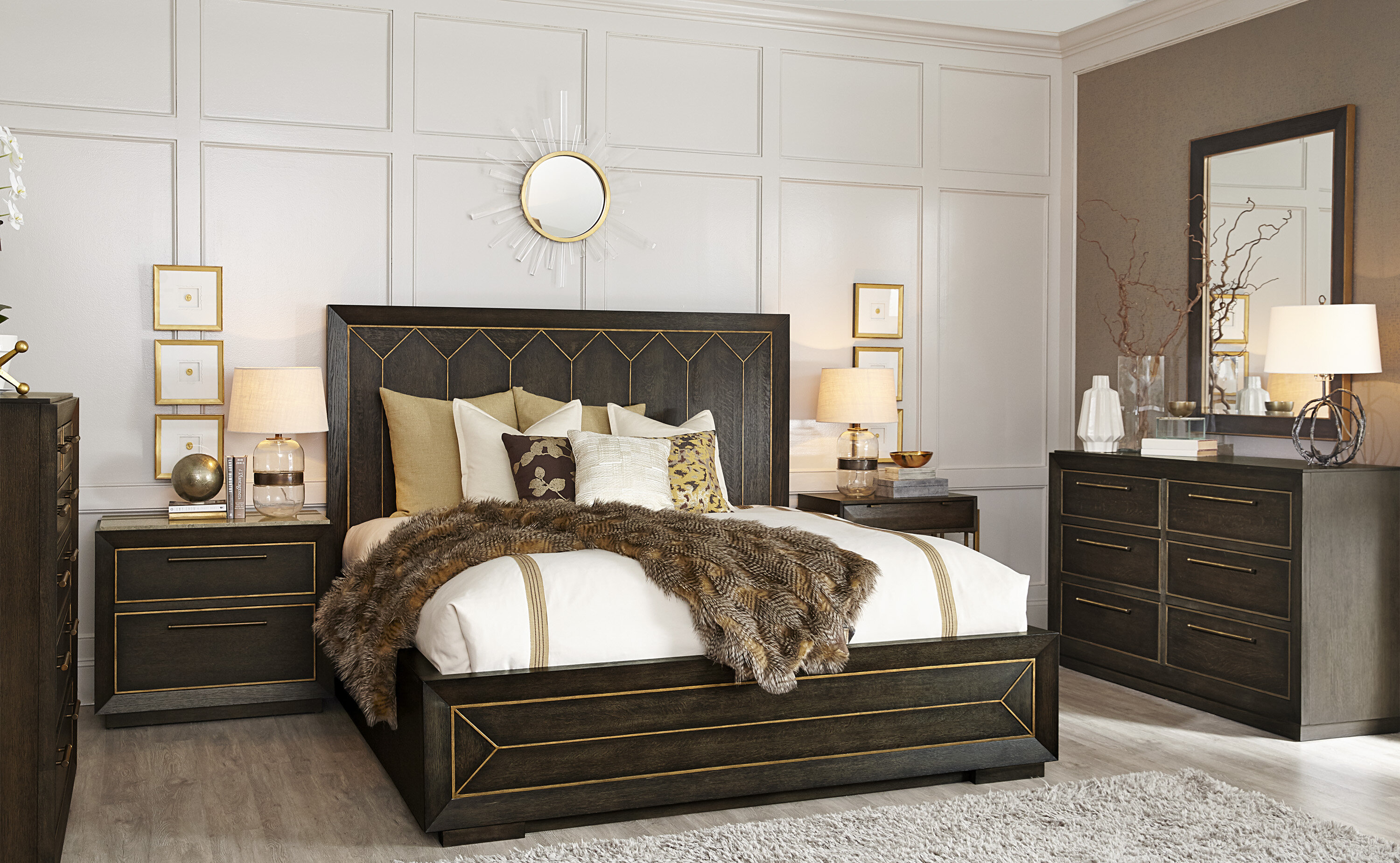 A R T Woodwright 6 Piece Bedroom Set Wayfair