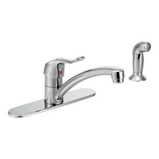 Moen M-Dura One Handle Low Arc Kitchen Faucet