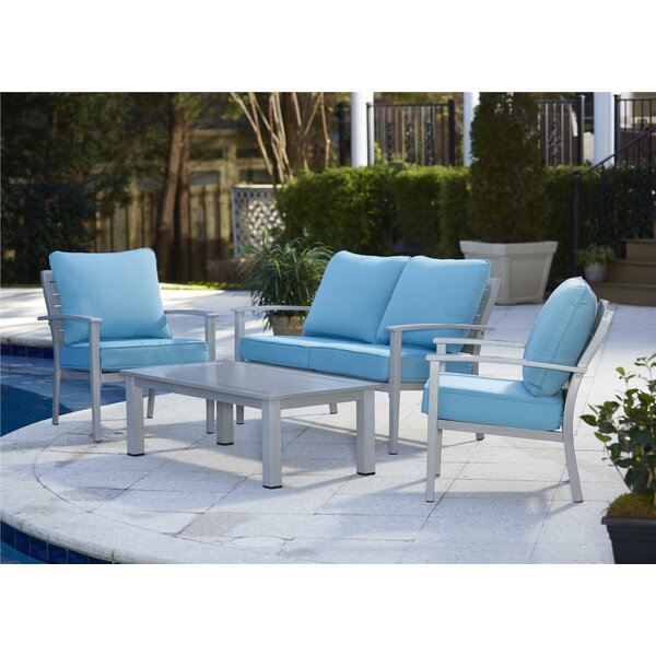 Aluminum Patio Furniture cast aluminum patio furniture | wayfair
