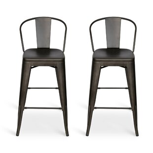 Affordable Novick 23 Bar Stool (Set of 2) by Williston Forge Reviews (2019) & Buyer's Guide