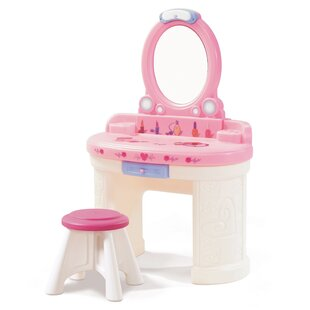 Loretta Dressing Table With Mirror By Zoomie Kids