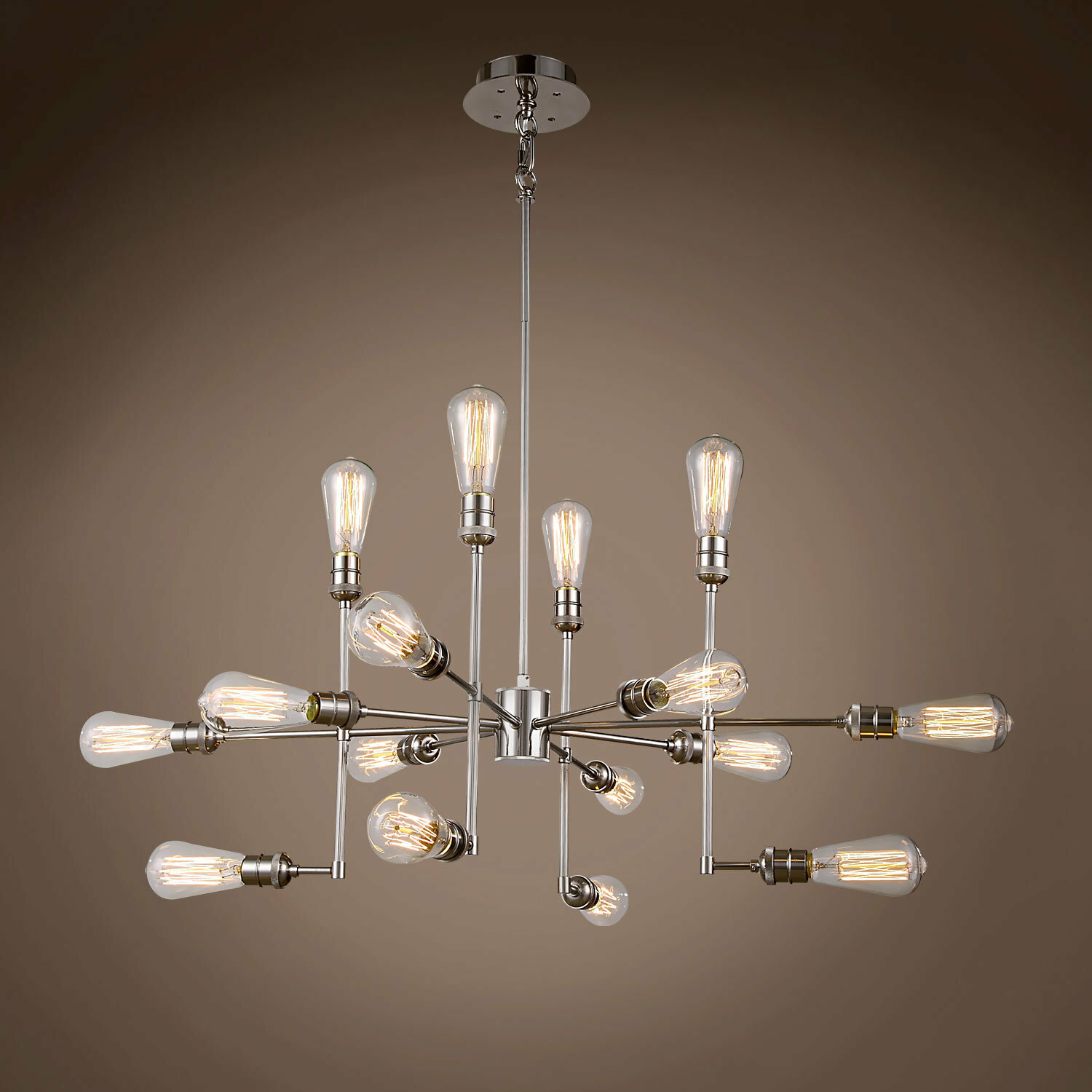 Williston Forge Morillo 15 Light Sputnik Modern Linear Chandelier Wayfair