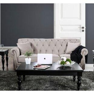 Canora Grey Warkworth Modern Victorian Sofa