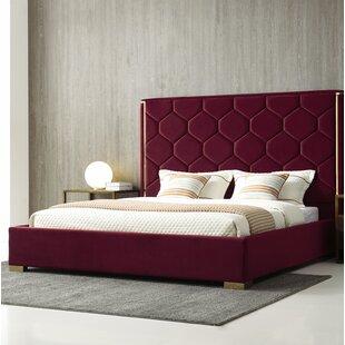 Everly Quinn Brookhaven Upholstered Platform Bed