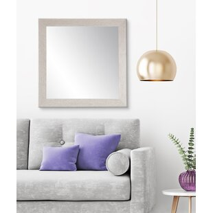 Find Falmacbreed Wood Grain Vanity Mirror Mirror ByHighland Dunes