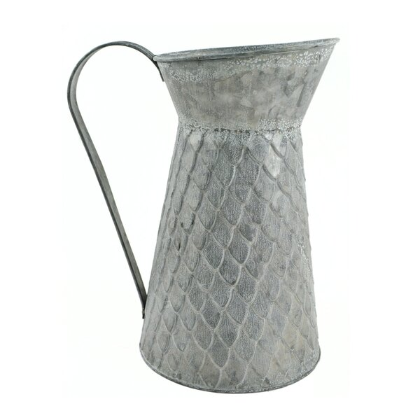Galvanized Tin Vases Wayfair