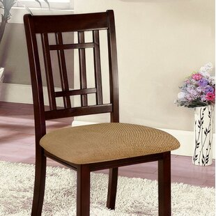 Topeka Upholstered Dining Chair (Set of 2) by World Menagerie