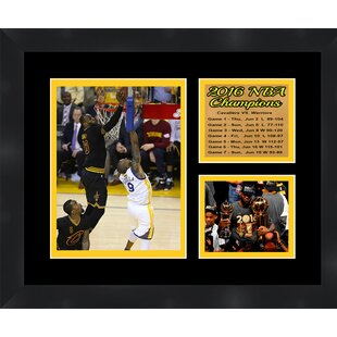 Cleveland Cavaliers '2016 NBA Champions LeBron James' Framed Photographic Print by Frames By Mail