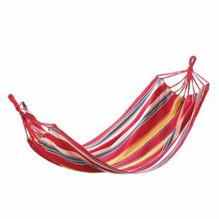 Zingz & Thingz Sunny Stripes Cotton Tree Hammock