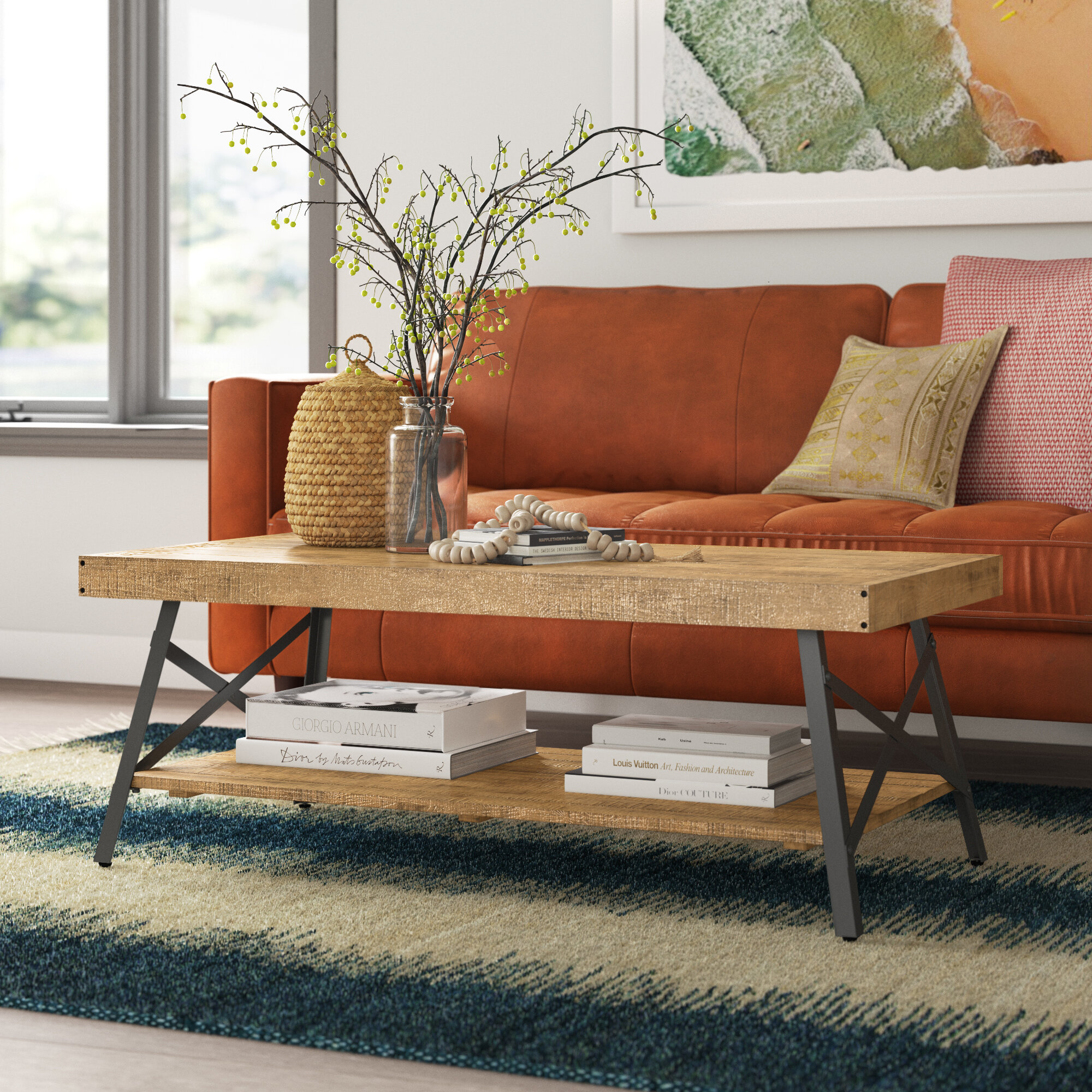 Forelli Coffee Table With Storage Reviews Joss Main