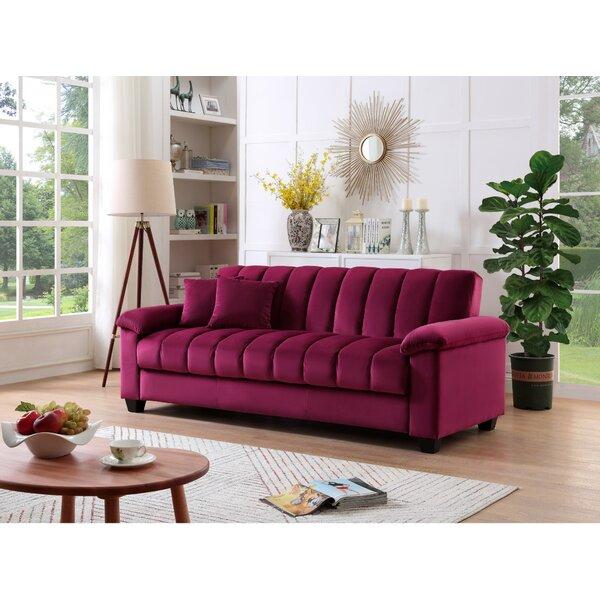 Strange Maroon Velvet Sofa Wayfair Gamerscity Chair Design For Home Gamerscityorg