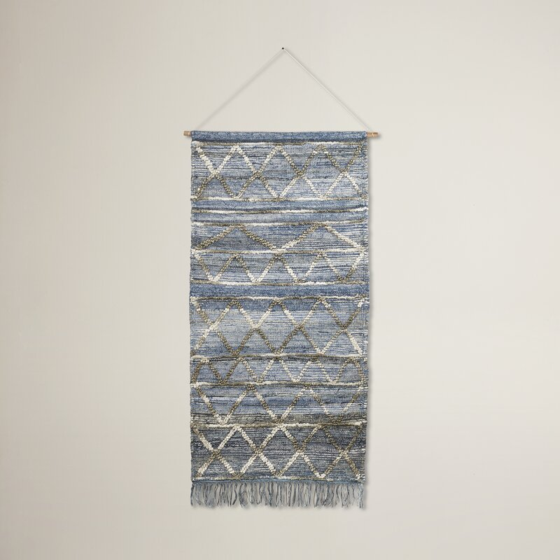 Woven Wall Hangings langley street hand-woven wall hanging & reviews | wayfair