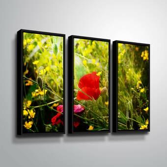 Red Barrel Studio River Bend 4 Piece Framed Painting Print Set