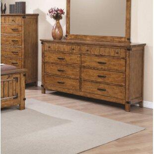 Hensley 8 Drawer Double Dresser By Loon Peak