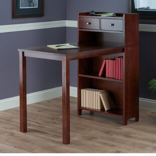 Latitude Run Mayra Storage Shelf Desk