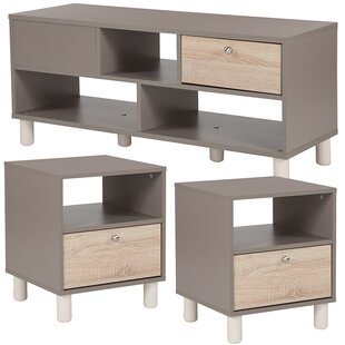 Oz 3 Piece Coffee Table Set