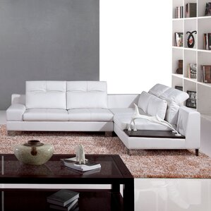 Saginaw Reclining Sectional by Hokku Designs