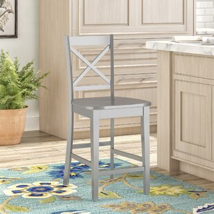 Antrim 24 Bar Stool (Set of 2) Alcott Hill