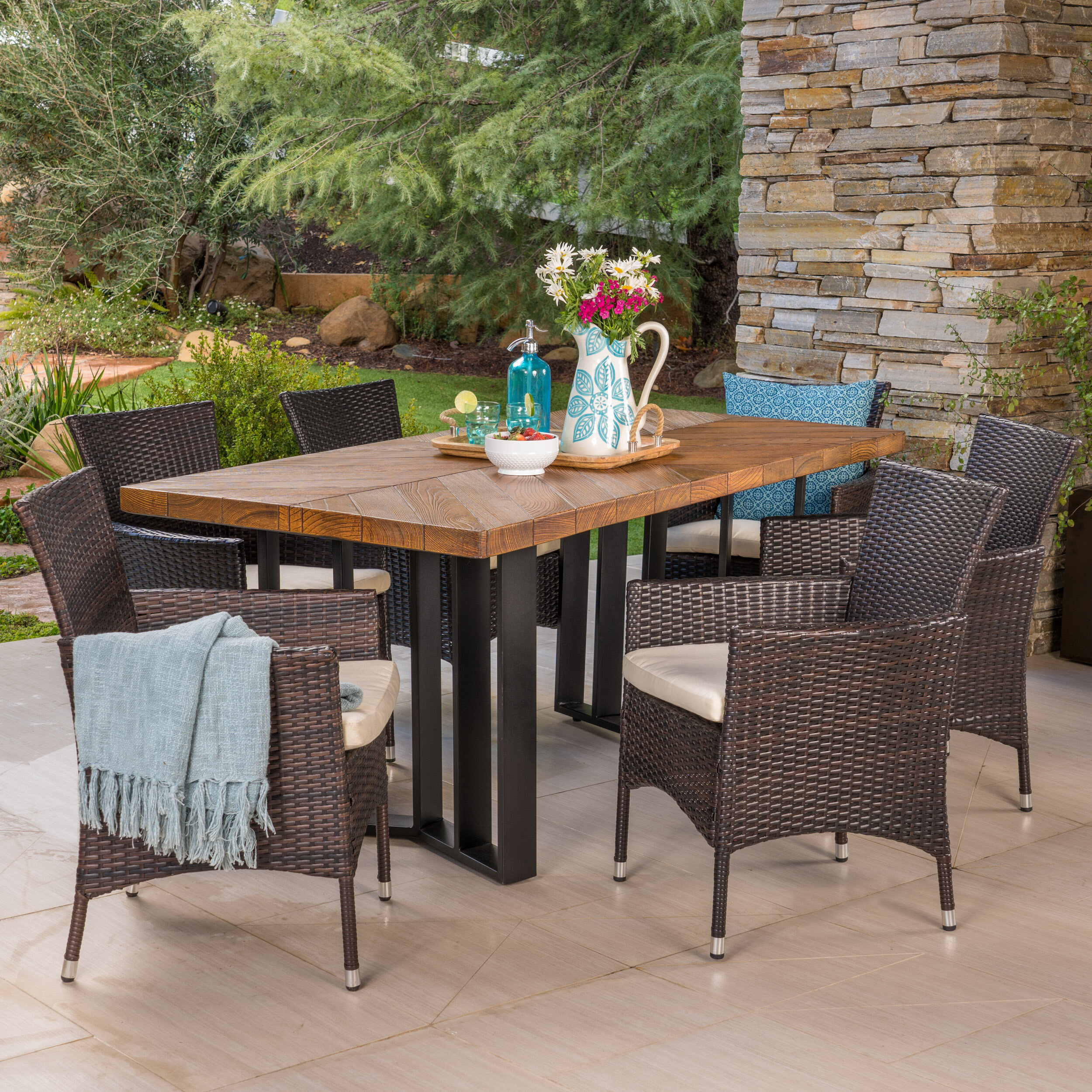 Stone Red Barrel Studio Patio Dining Sets You Ll Love In 2021 Wayfair