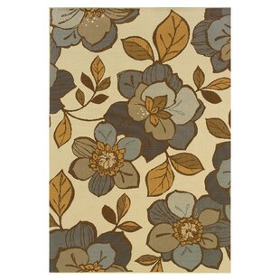 Milltown Ivory/Grey Indoor/Outdoor Area Rug