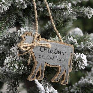 Cow Ornament Wayfair