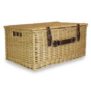 Buff Picnic Basket By Brambly Cottage