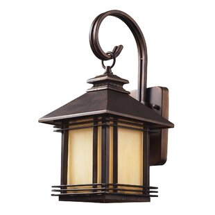 Compare Federal Heights 1-Light Outdoor Wall Lantern By Loon Peak
