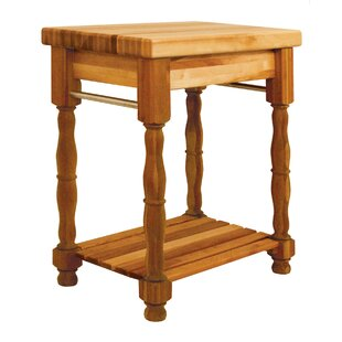 Kitchen Island With Butcher Block by Catskill Craftsmen, Inc. #2