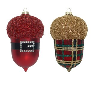 Pine Cone Christmas Ornaments Wayfair