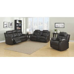 Troy 3 Piece Living Room Set by AC Pacific
