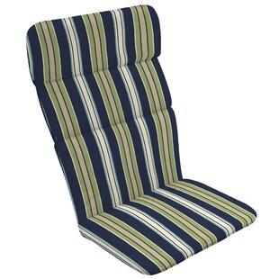 Stripe Outdoor Adirondack Chair Cushion  sc 1 st  Wayfair & Adirondack Chair Cushions Blue | Wayfair