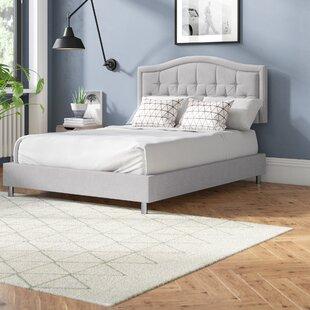 Stamey Upholstered King Size Platform Bed By Brayden Studio
