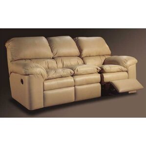 Catera Leather Reclining Sofa by Omnia Leather