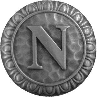 Alphabet Initial N Knob