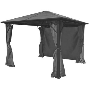 Karter 3m X 3m Aluminium Patio Gazebo By Sol 72 Outdoor