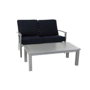Yohan 2 Piece Sofa Set with Cushions