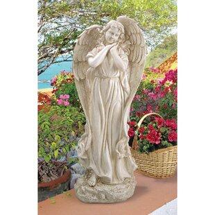 Design Toscano Constance's Conscience Garden Angel Statue