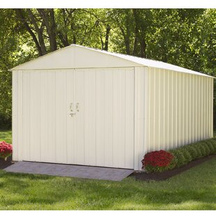 Commander 10 Ft. W X 15 Ft. 5 In. D Metal Storage Shed By Arrow