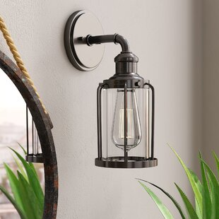 Read Reviews DeBary 1-Light Armed Sconce By Williston Forge