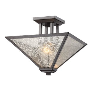 Bryar 2-Light Semi Flush Mount by Darby Home Co
