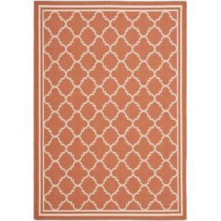 Schmidt Terracotta/Bone Indoor/Outdoor Area Rug Image