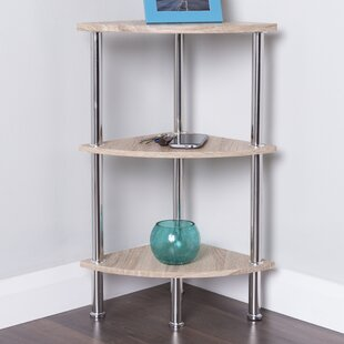 Adelinna Corner Bookcase by Latitude Run