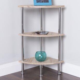Reviews Adelinna Corner Unit Bookcase by Latitude Run